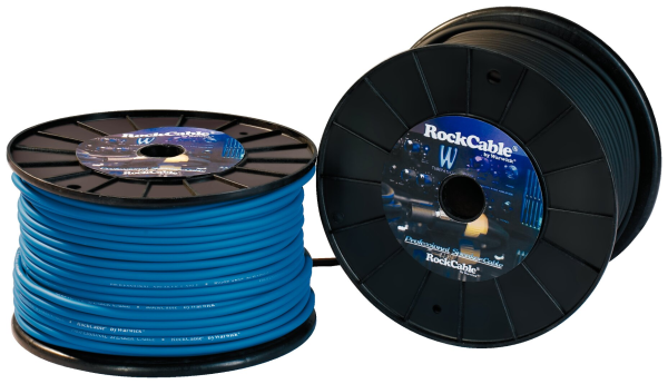 RockCable Speaker Cable - Cable Rolls, Twin, diameter 7 mm