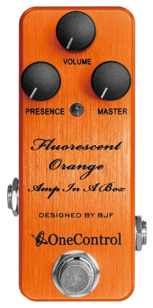 One Control Fluorescent Orange AIAB - Distortion / Amp-In-A-Box