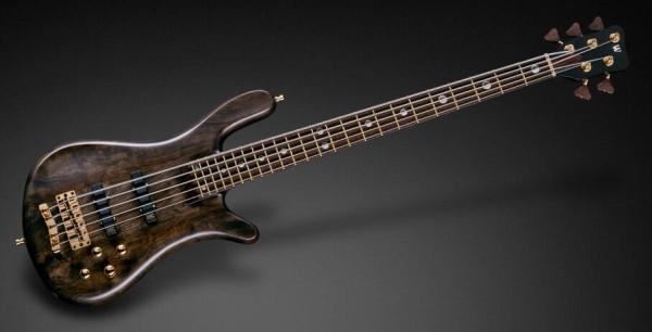 Warwick Custom Shop Streamer Stage II, 5-String - Nirvana Black Transparent Satin - 18-3889
