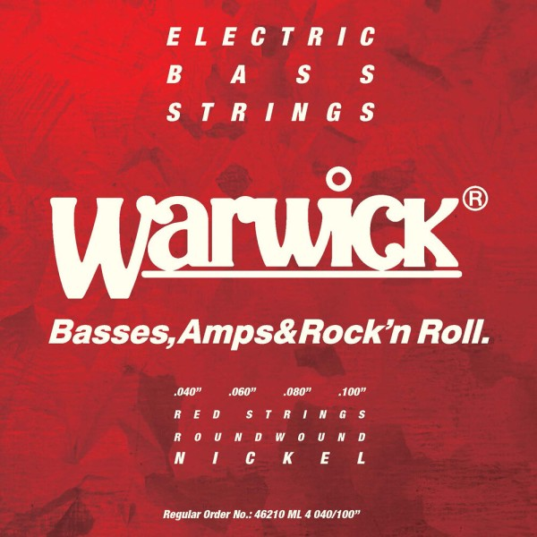 Warwick RED Strings - Bass String Sets - Nickel-Plated Steel