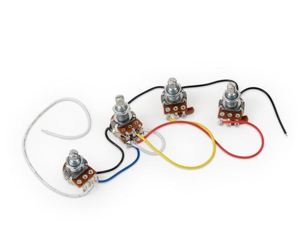 Passive Electronics for passive PUs Vol-BalMN 250K-Tone-Tone