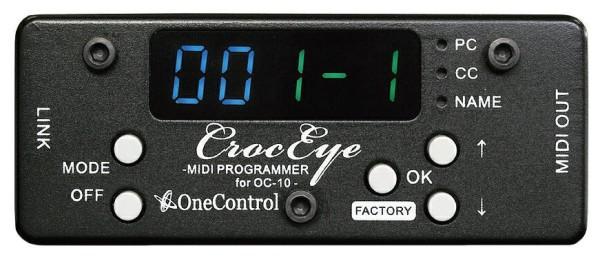 One Control Croc Eye - MIDI Programmer for Crocodile Tail Loop