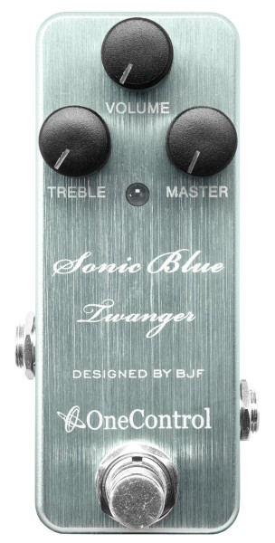 One Control Sonic Blue Twanger - Distortion / Amp-In-A-Box