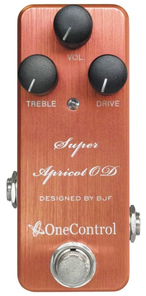 One Control Super Apricot OD - Overdrive / Amp-In-A-Box