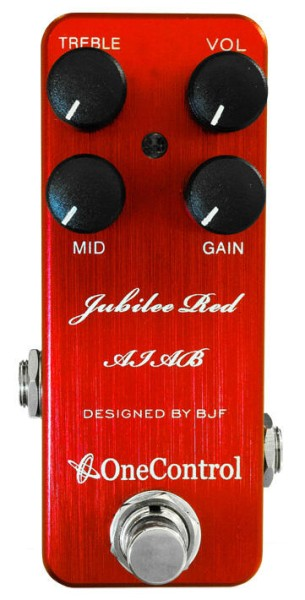 One Control Jubilee Red AIAB - Distortion / Amp-In-A-Box