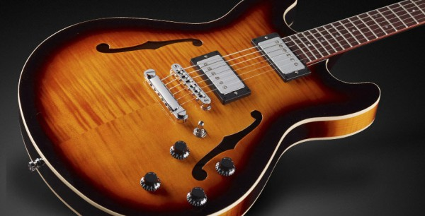 Framus Teambuilt Pro Series Mayfield Pro - Vintage Sunburst Transparent High Polish