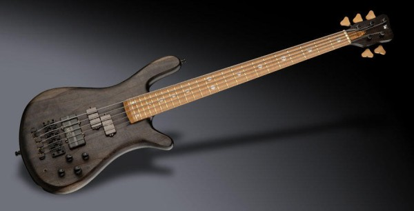 Warwick Custom Shop Streamer Stage II, 5-String - Nirvana Black Transparent Satin - 21-4221