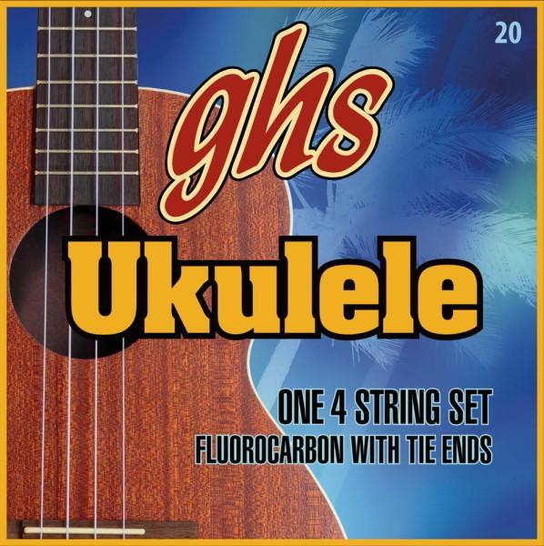 GHS Fluorocarbon Ukulele Strings