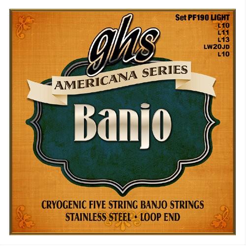 GHS Americana Banjo String Sets