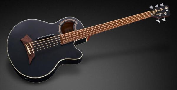 Warwick RockBass Alien Standard, 5-String - Solid Black Satin