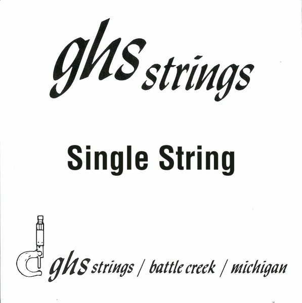GHS Double Ball End Boomers - Electric Guitar Single String, .010
