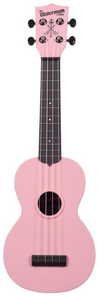 KALA Waterman KA-SWB-PK - Soft Pink Matte Soprano Ukulele, with Tote Bag