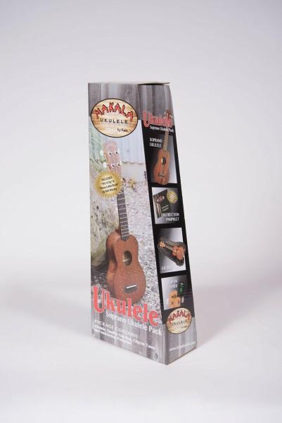 Makala MK-S/PACK - Soprano Ukulele Pack, with Tuner & Bag