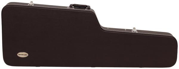 RockCase - Standard Line - ST-Style Electric Guitar Hardshell Case - Black