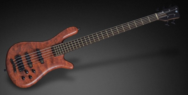 Warwick Custom Shop Streamer Stage II, 5-String - Natural Oil Finish - 17-3369
