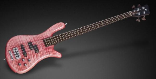 Warwick Custom Shop Streamer LX, 4-String - Bleached Rose Transparent Satin - 17-3432