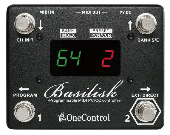 One Control Basilisk - Programmable MIDI Controller