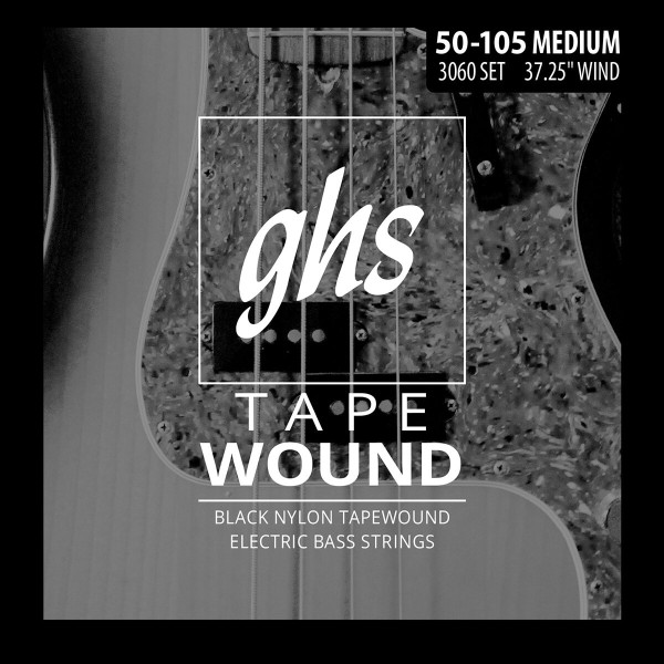 GHS Tape Wound Bass String Sets