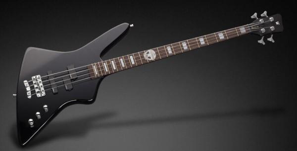 Warwick RockBass Artist Line Rex Brown, 4-String - Solid Black High Polish