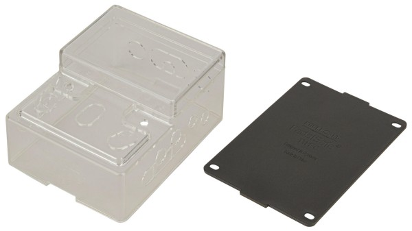 RockBoard PedalSafe Type C - Protective Cover And Universal Mounting Plate For Large Vertical Pedals