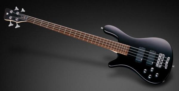 Warwick RockBass Streamer Standard, Lefthand, 4-String - Nirvana Black Transparent Satin